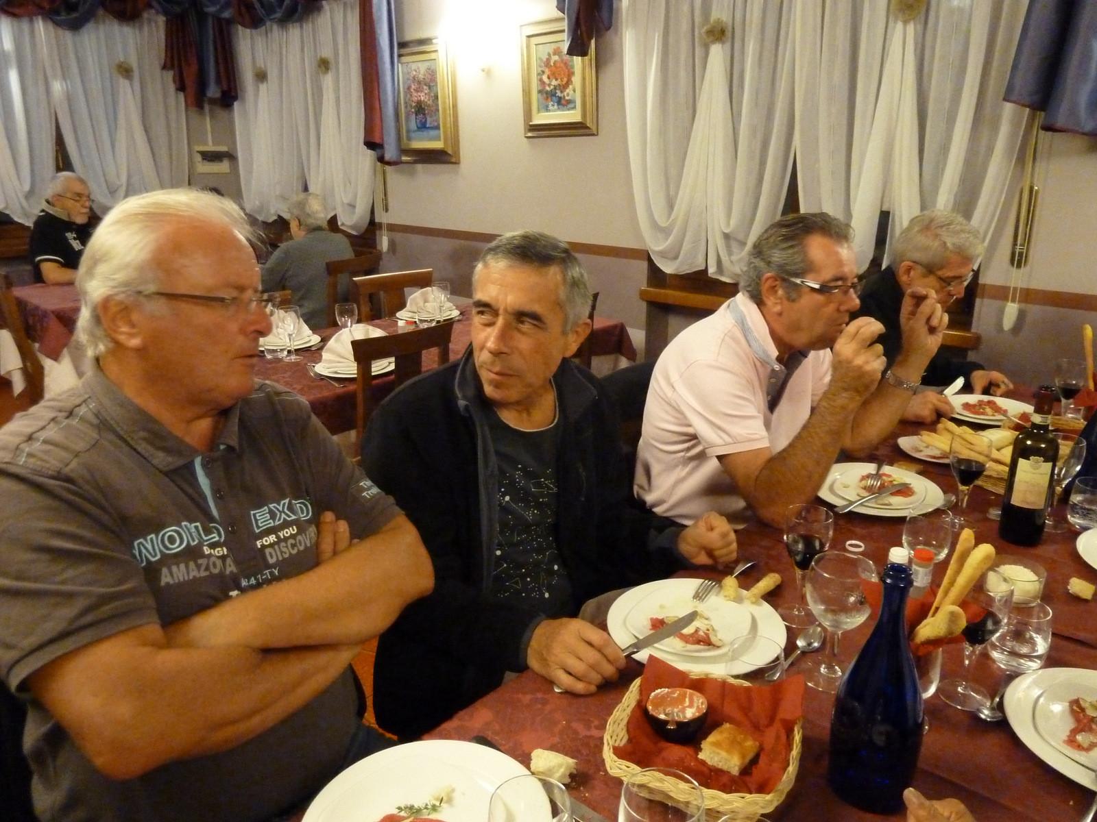 dîner hôtel Fungo Réal