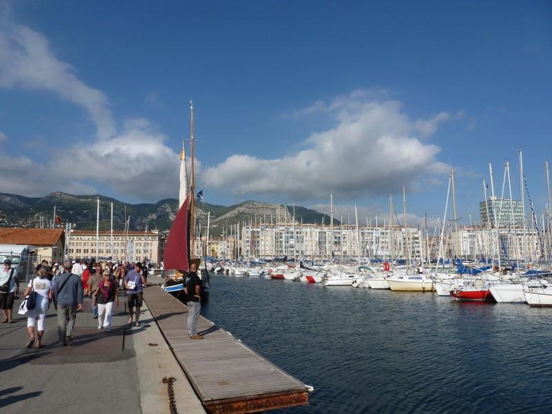 la vieille darse de Toulon