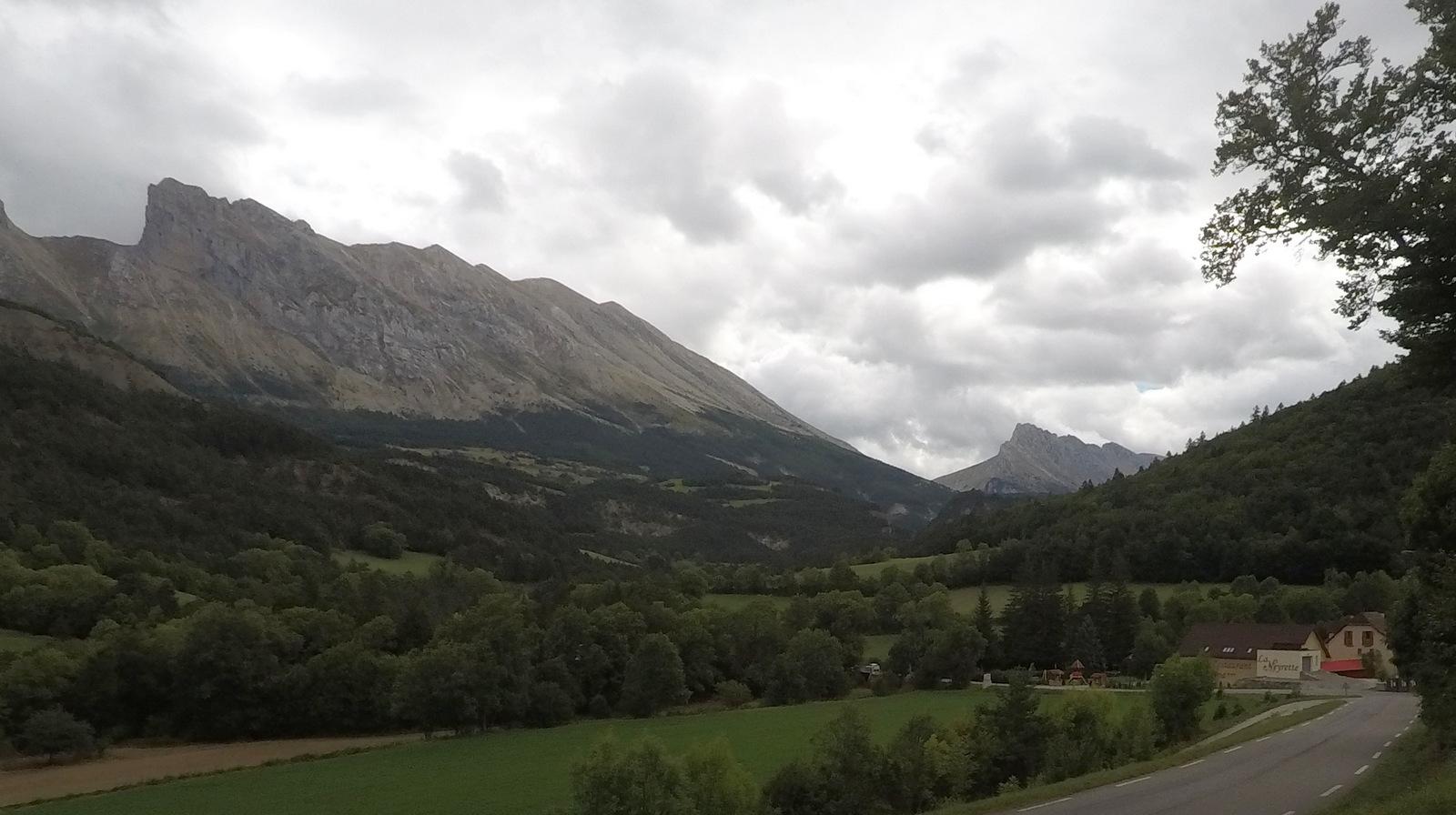 montagne de Feraud à Saint Disdier