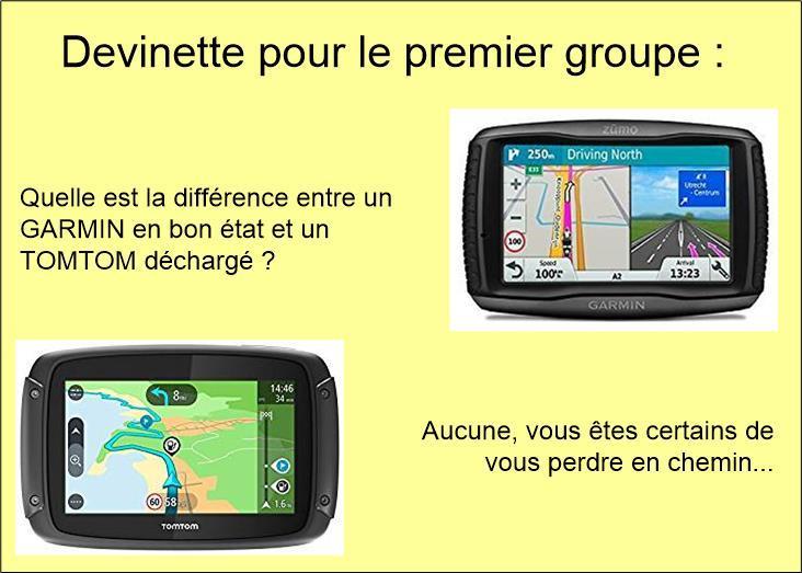 Groupe 1 : Test de GPS : Pas concluant !!!