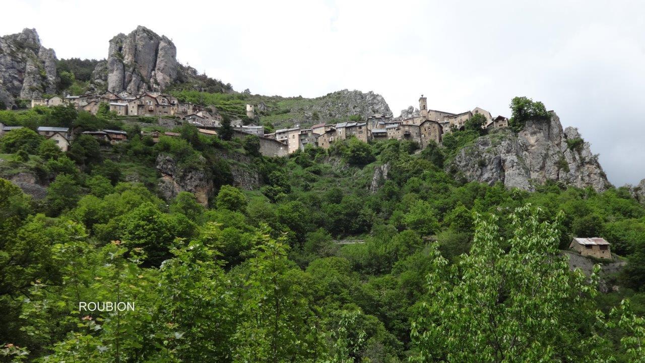 village de Roubion