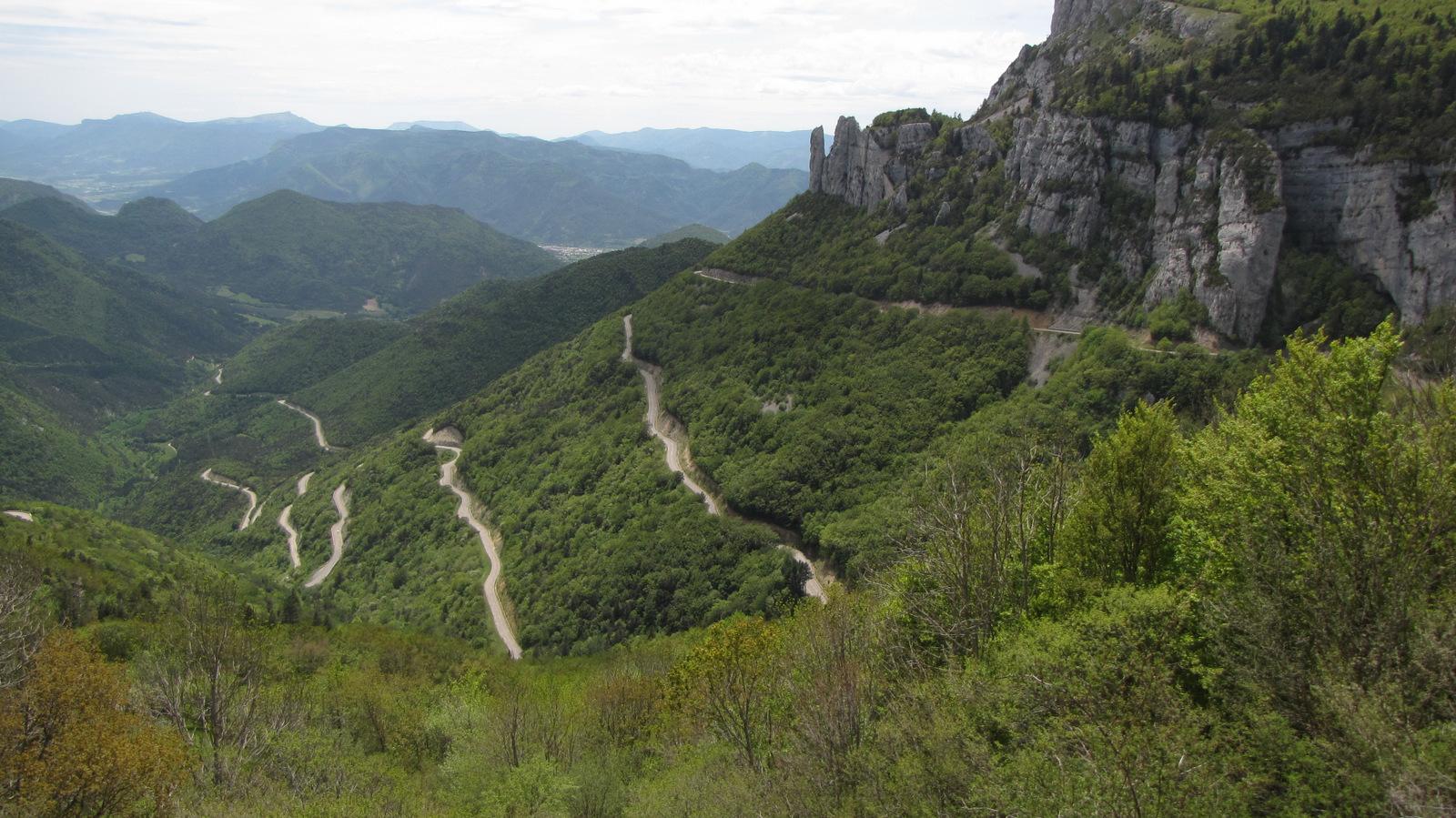 descente du col de Rousset