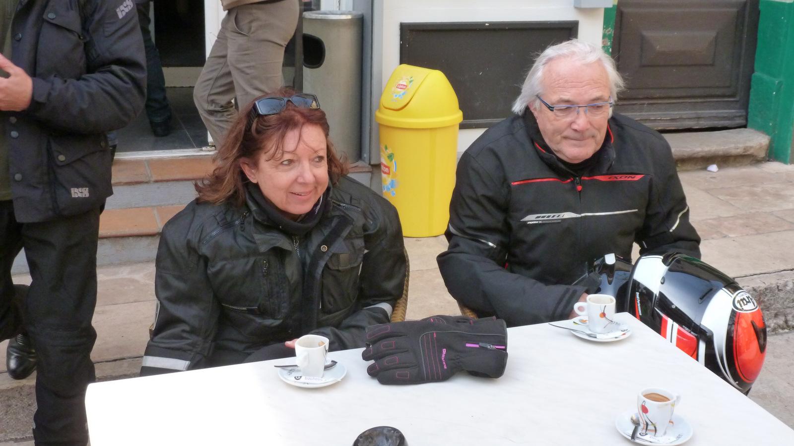 Patricia et Jean-Pierre ... invités pour cette sortie