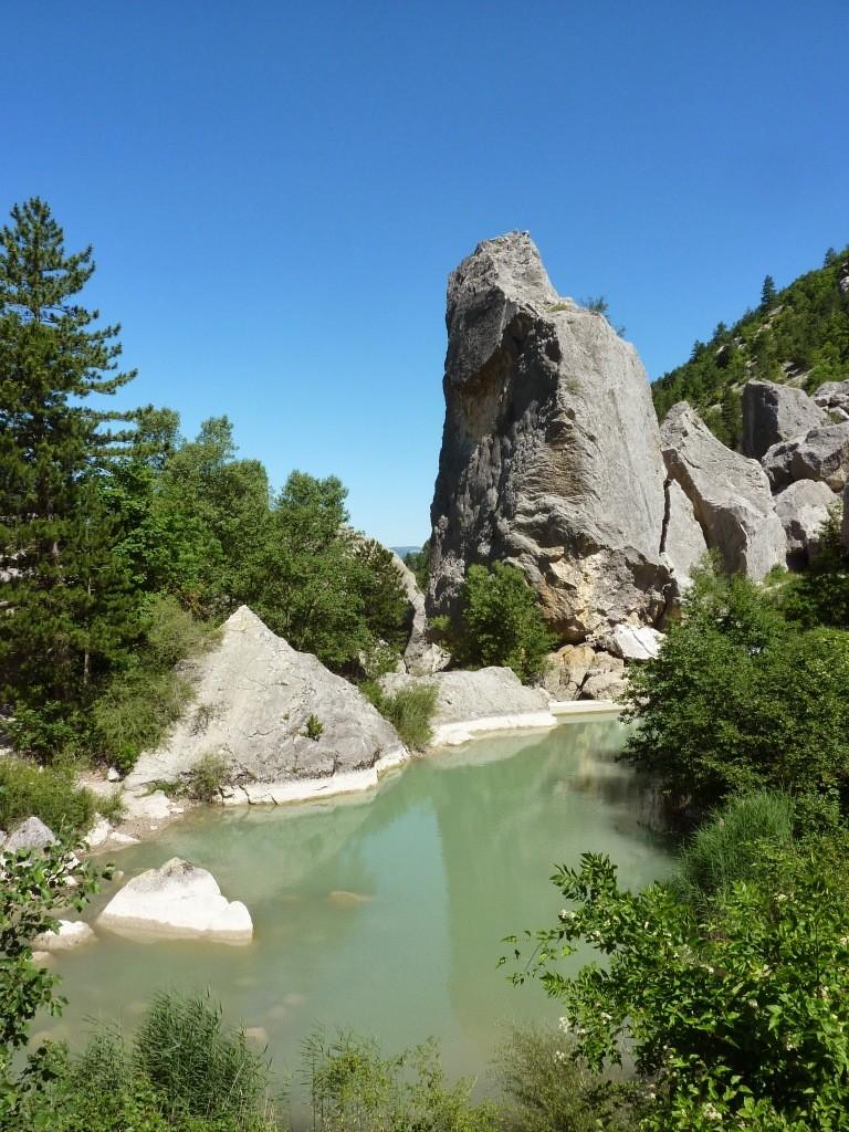 saut de la Drôme - Luc en Dios - le Claps