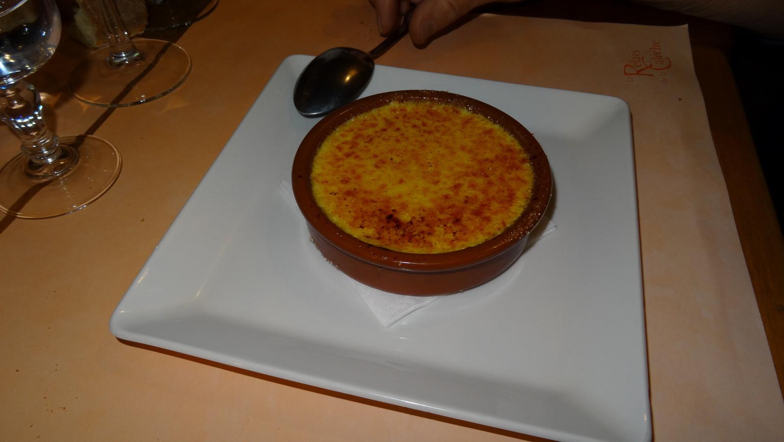 Crème brûlée à la fève tonka ou ...