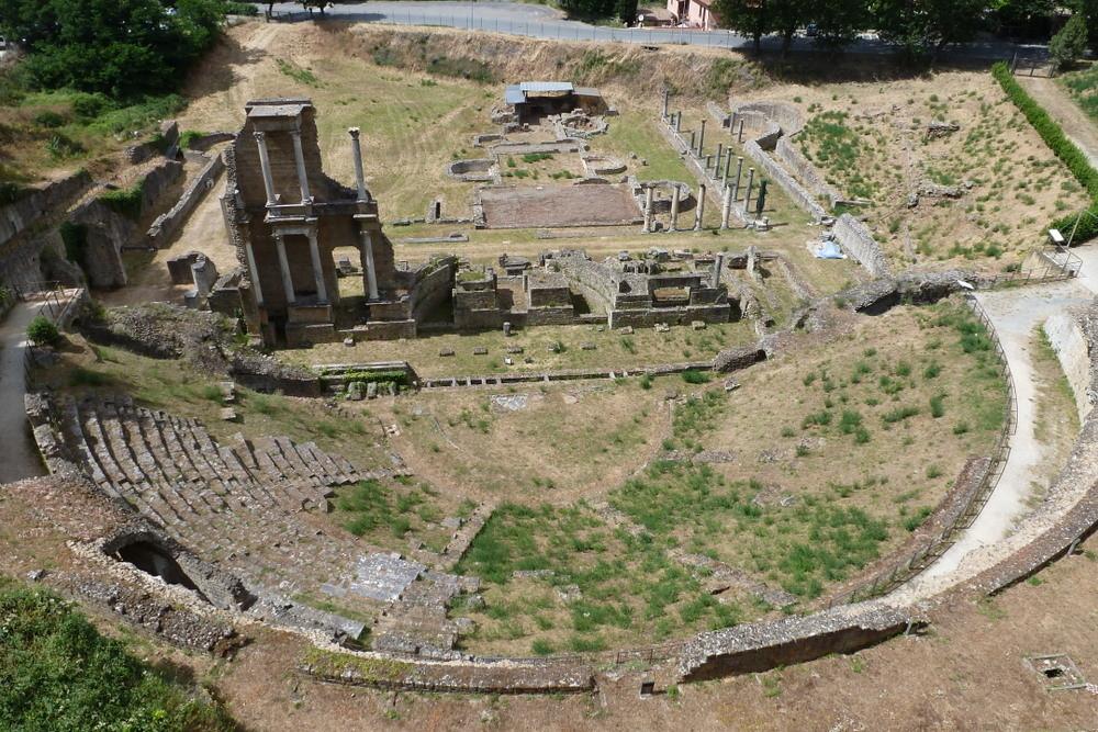Volterra - théâtre romain