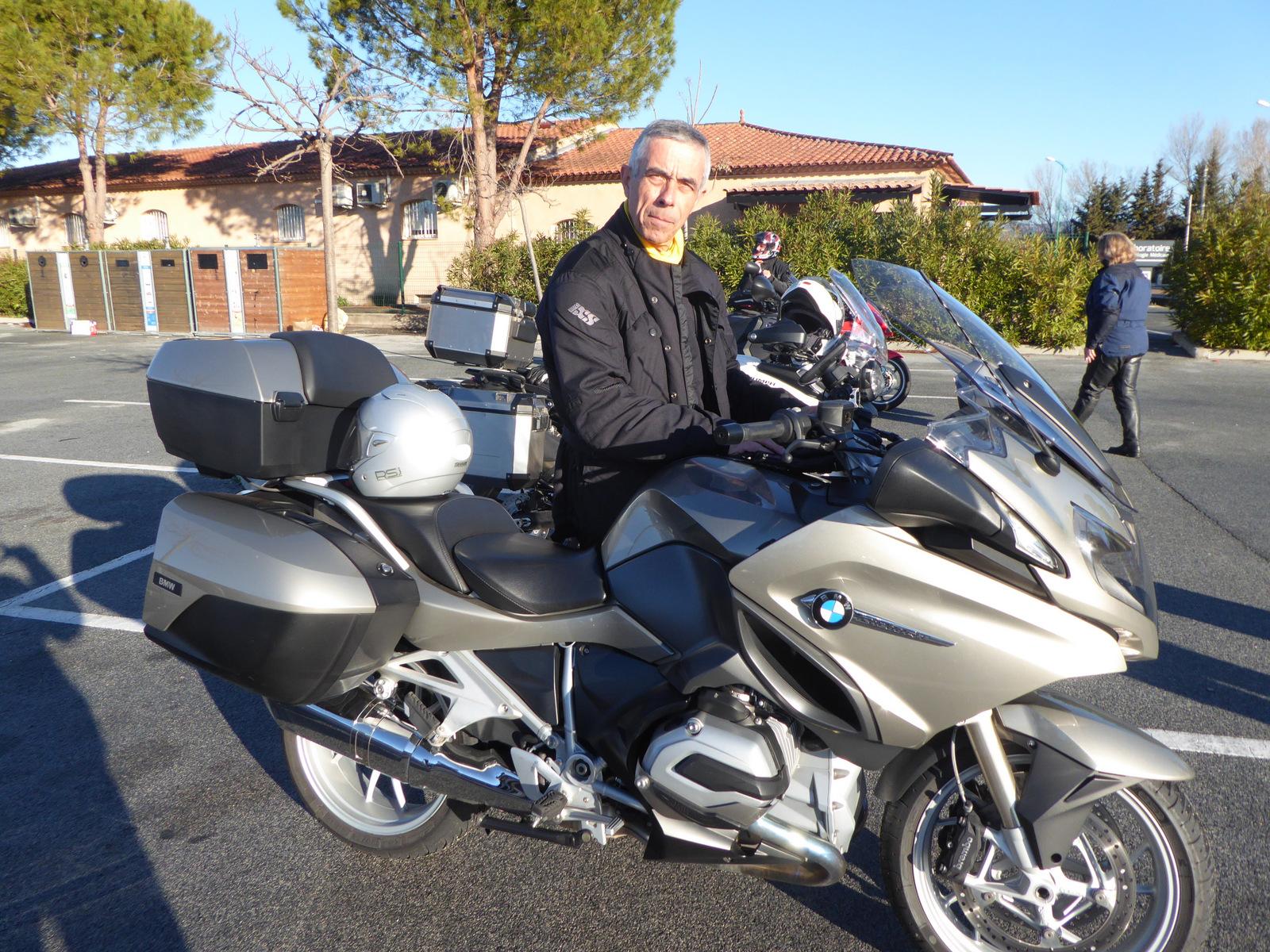 la nouvelle moto de Denis