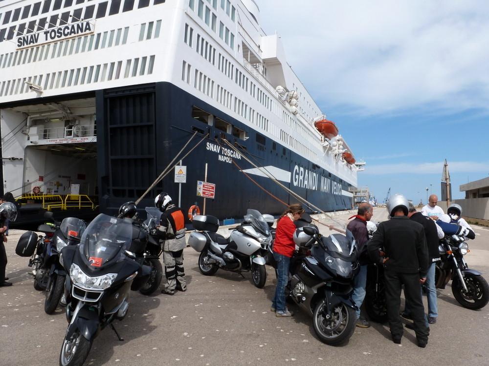 débarquement à Porto Torres