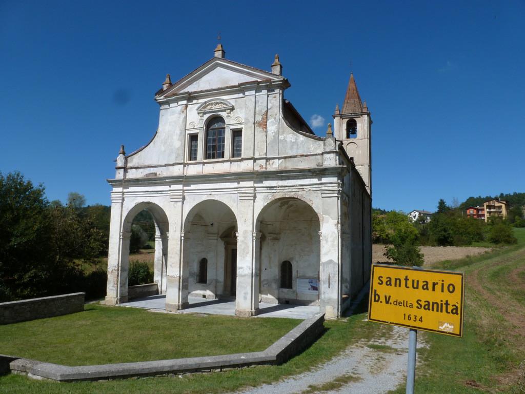 Priero : sanctuaire de la Madonna della Sanità