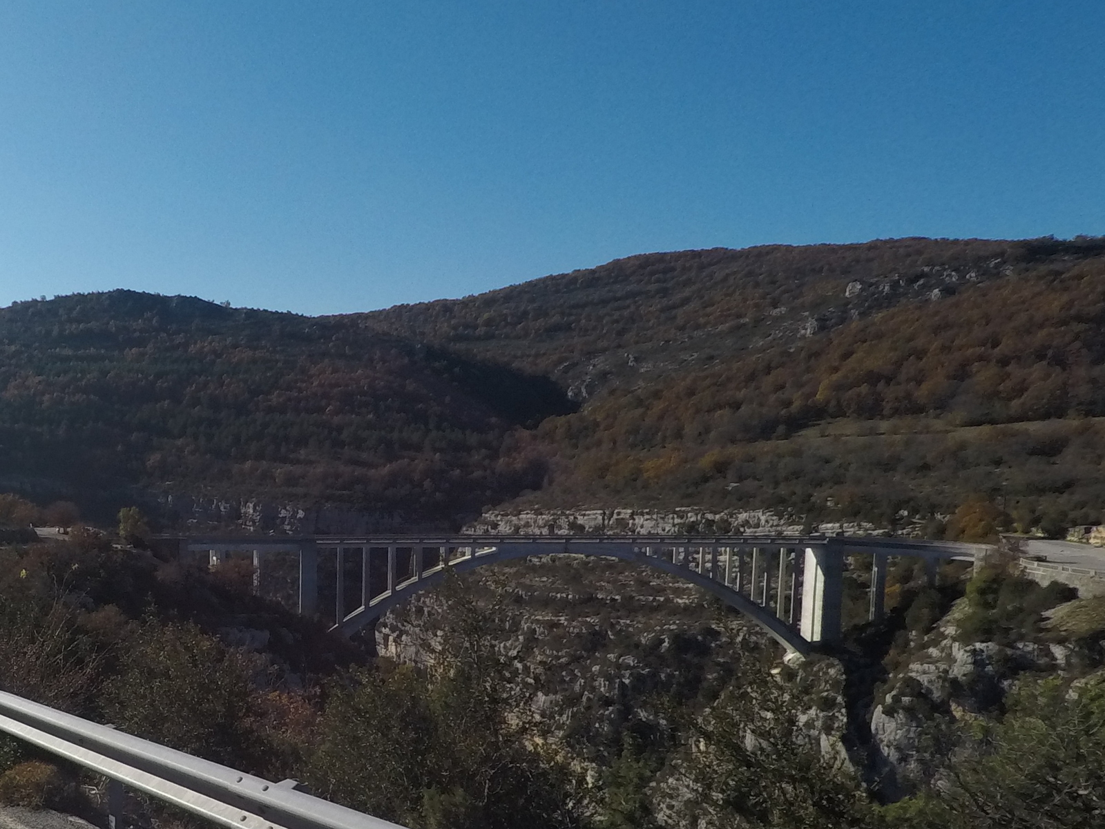 Pont de Chaulière sur l'Artuby