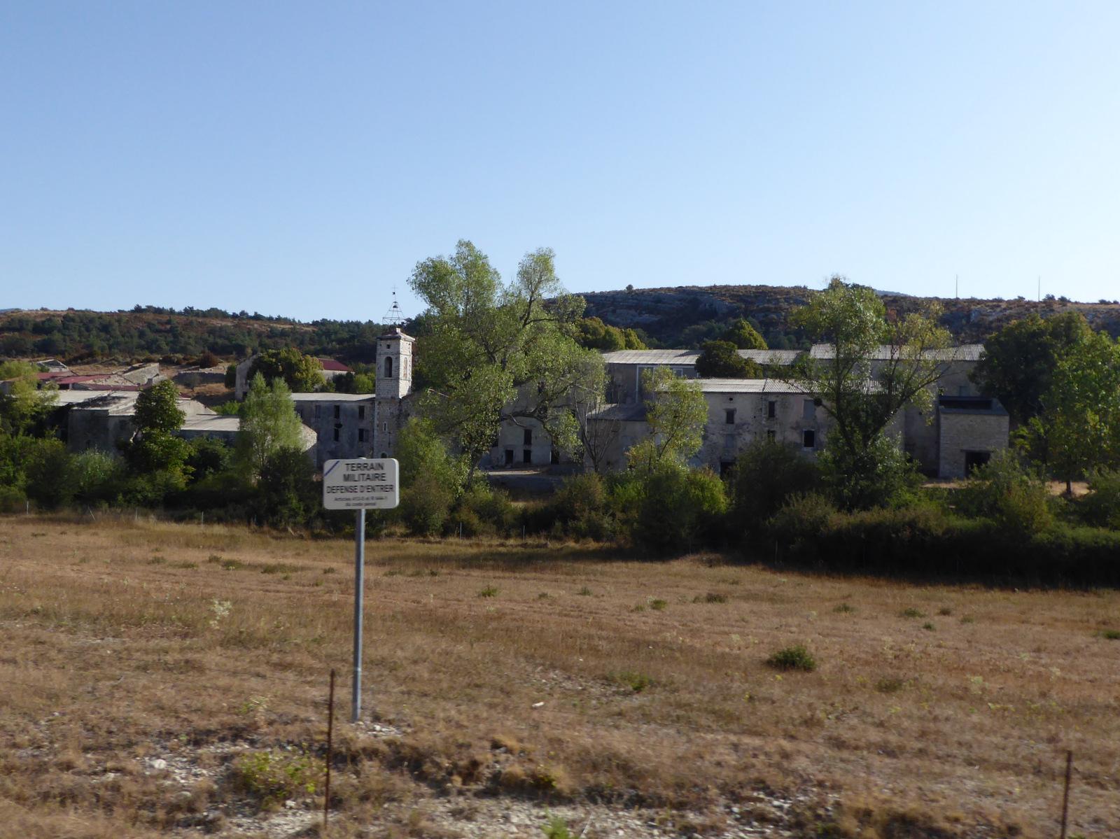 Brovès, le village fantôme