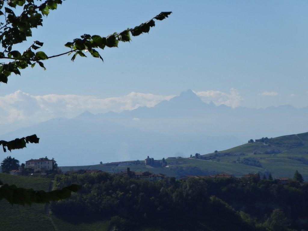 et toujours le Mont Viso au loin