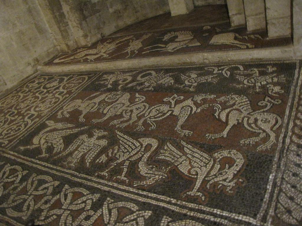 mosaïque de l'abside gauche
