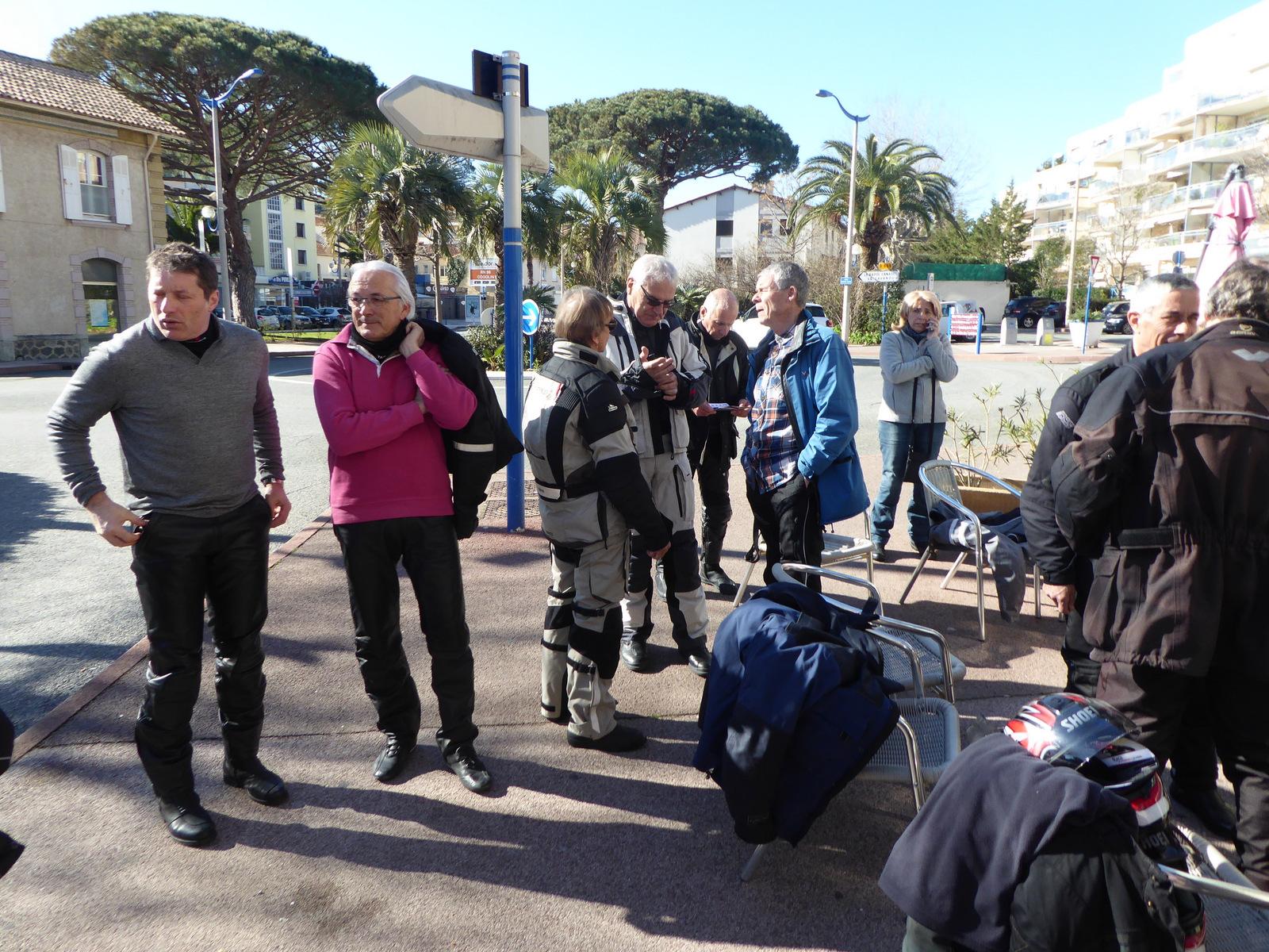 pause café à Cavalaire sur Mer