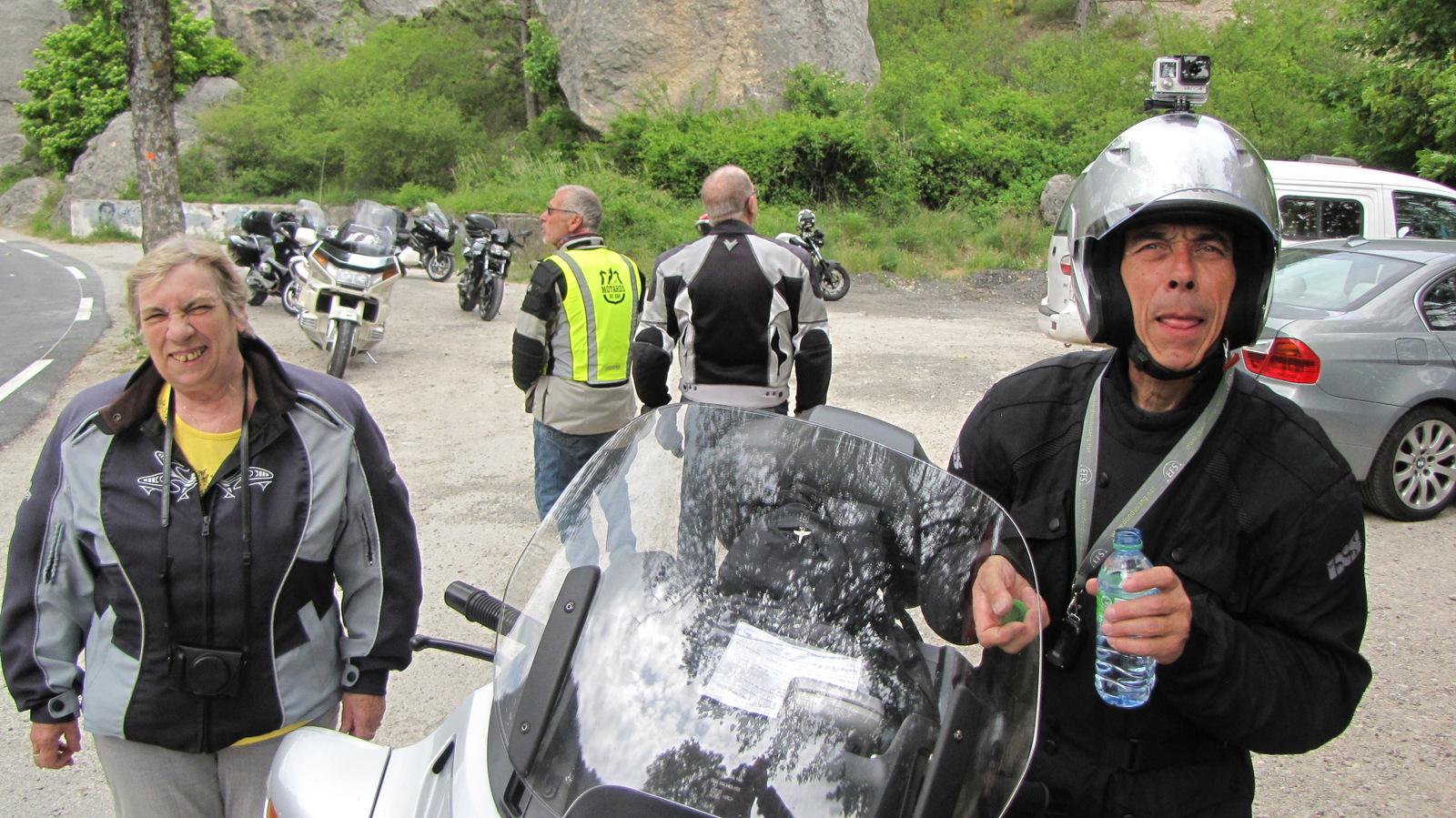 arrêt au saut de la Drôme