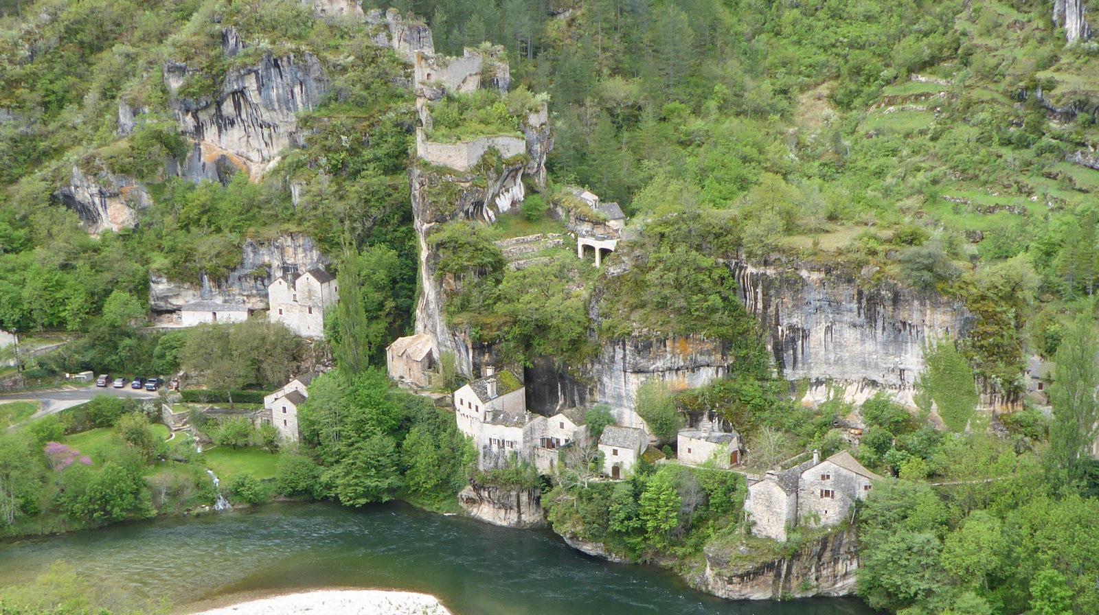 village et château de Castelbouc