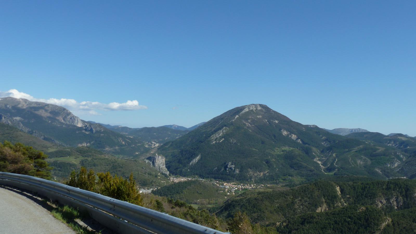 descente sur Castellane