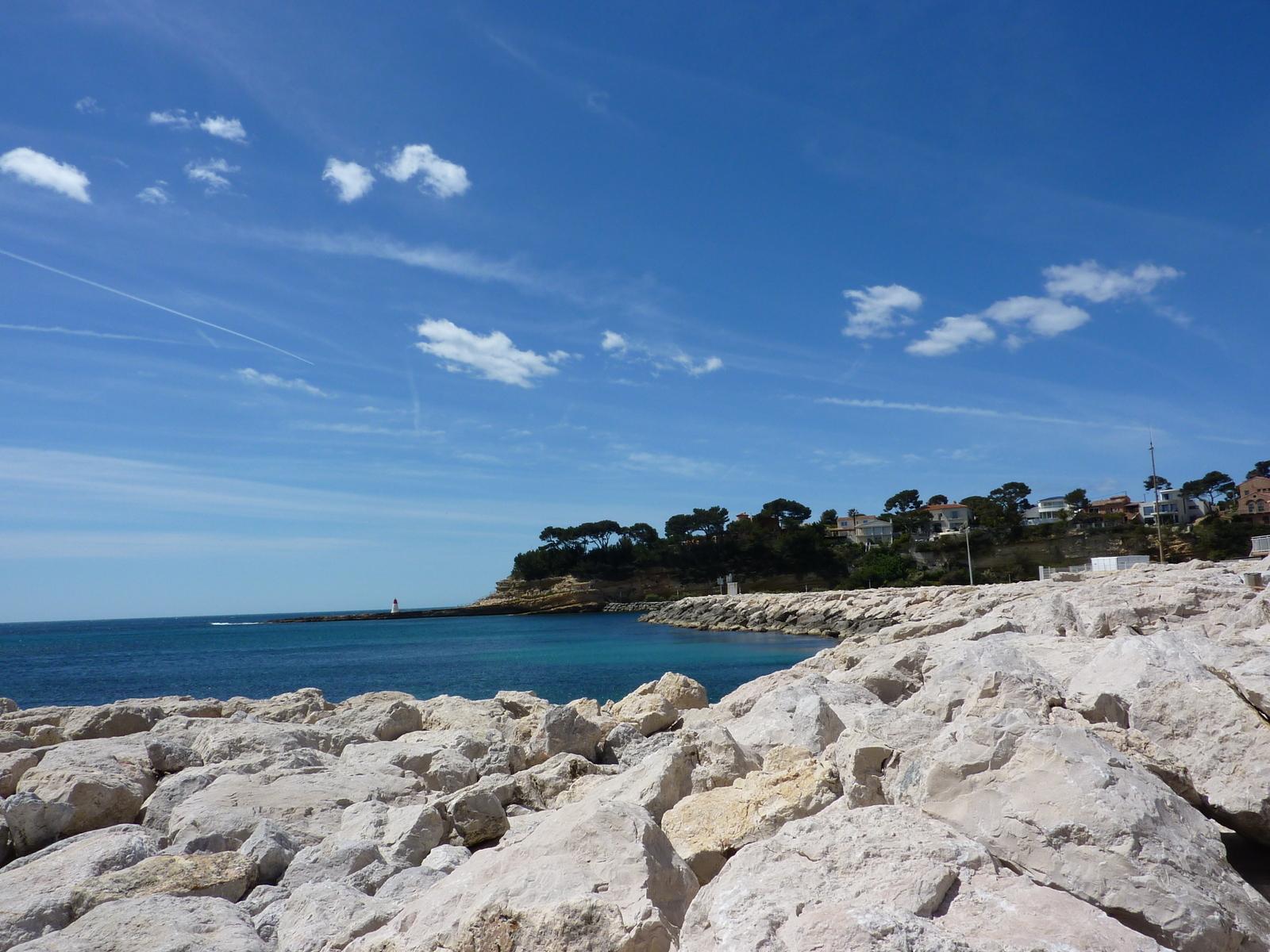 La plage de Carry Le Rouet