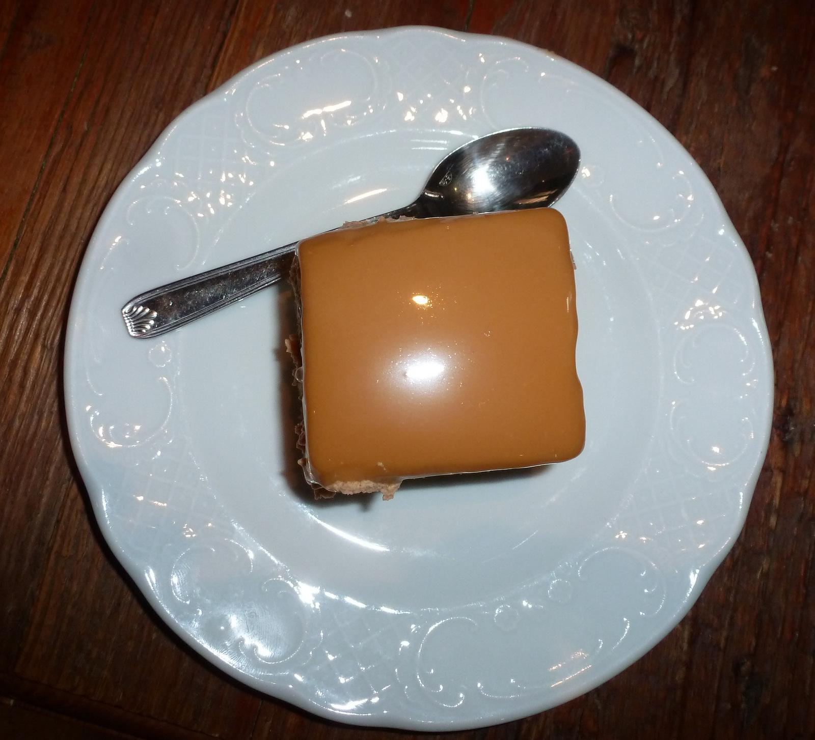 ensuite : dessert au caramel ...