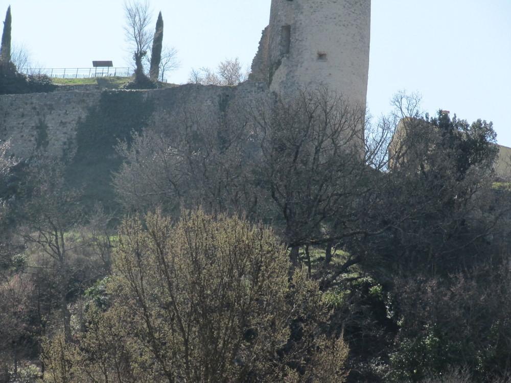 château en ruine de Pontevès