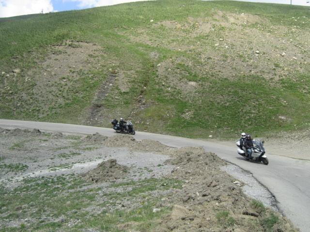 montée au col d'Allos (Charles, Georges)
