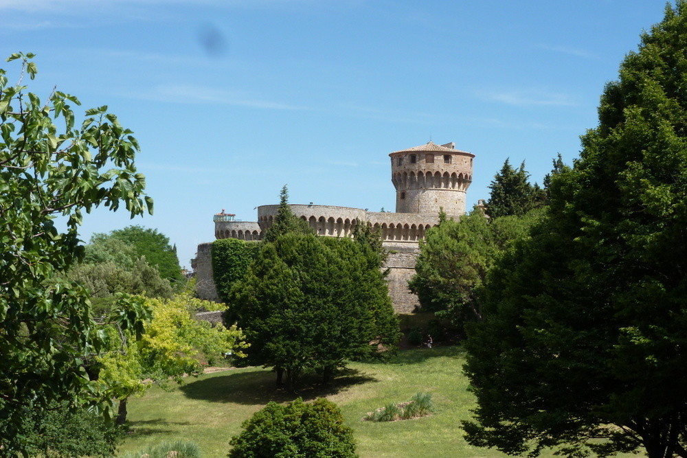 Volterra - la forteresse