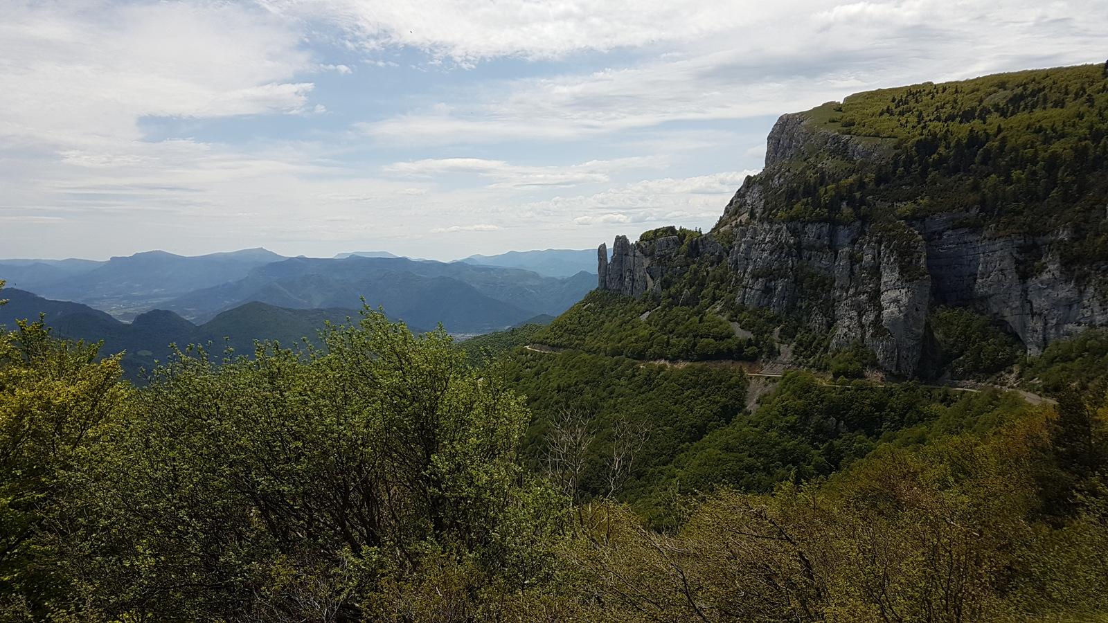 vue du col de Rousset