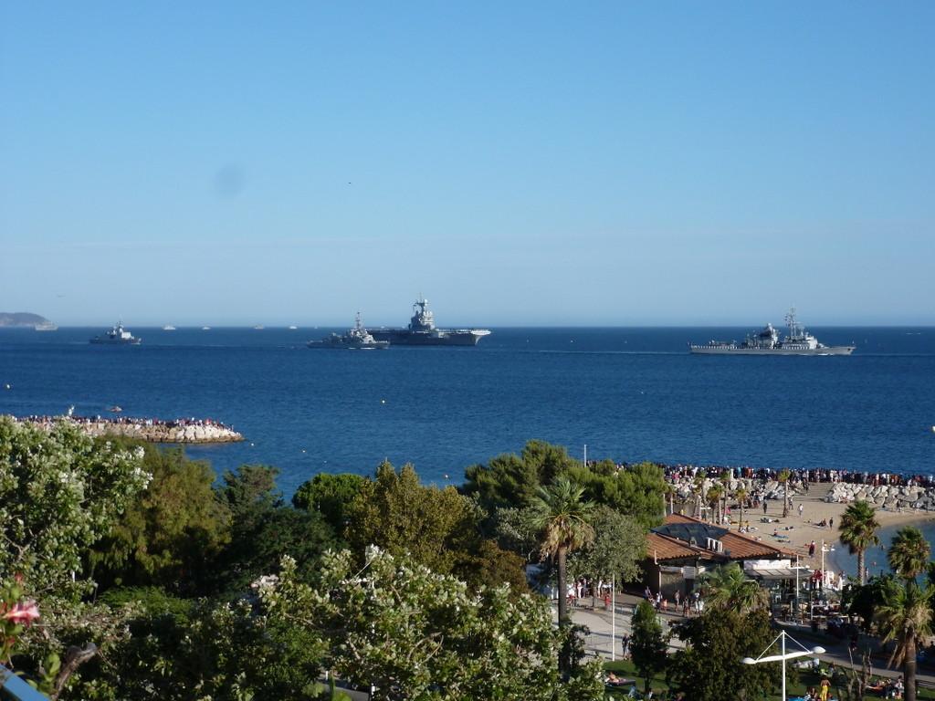 Toulon, la rade des Vignettes
