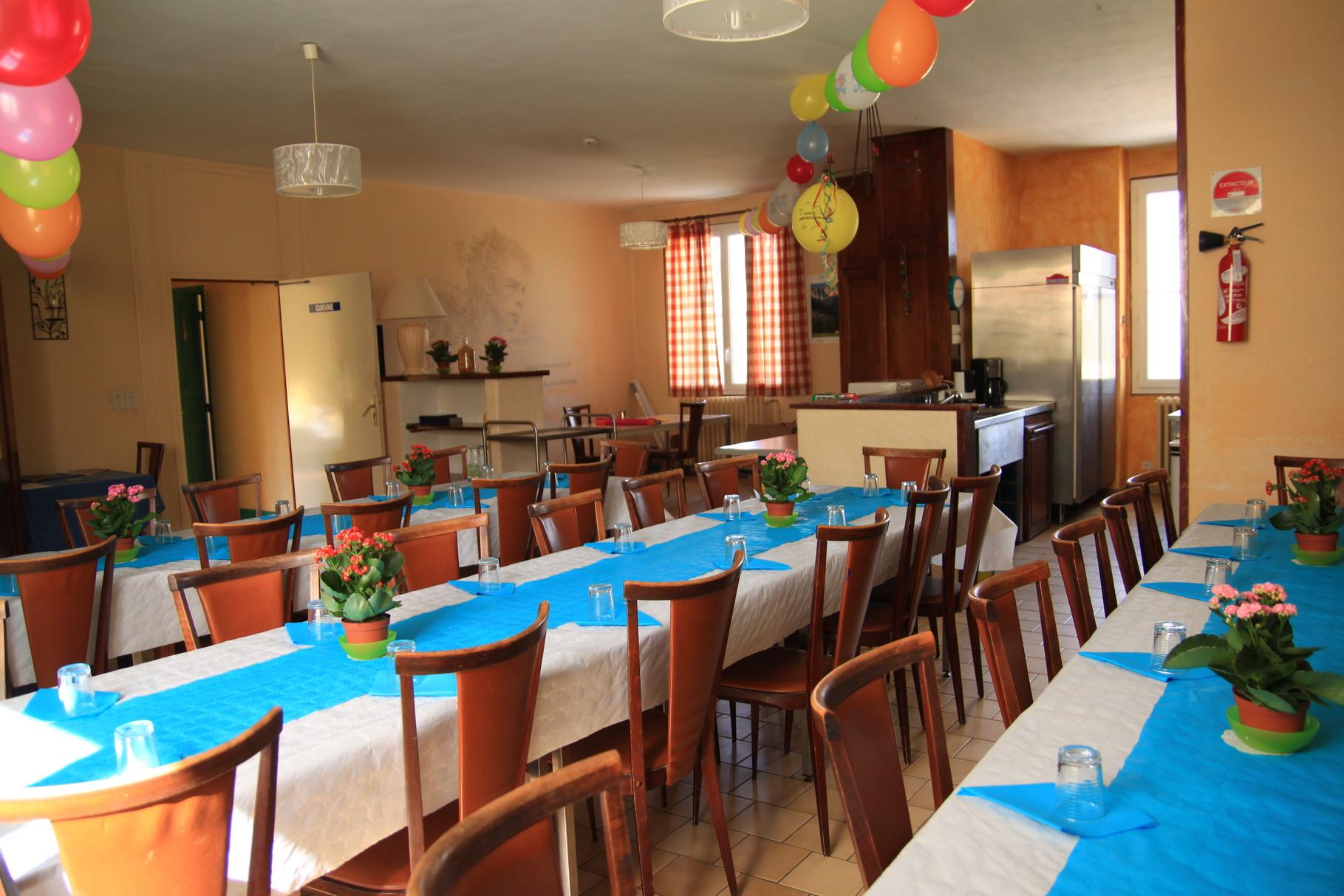 Grande salle-à-manger