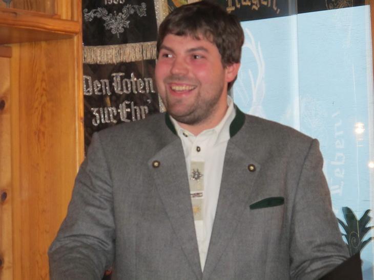 Thomas Nieder, unser zweiter Schützenmeister, freut sich auf die Ehrungen