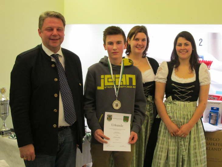 2. Platz Einzelwertung Schüler für Thomas Kellermann