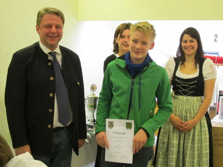6. Platz Einzelwertung Schüler für Johannes Brummer