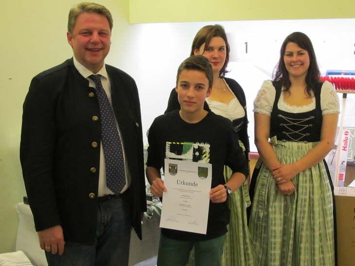 8. Platz Einzelwertung Schüler für Martin Schöffmann