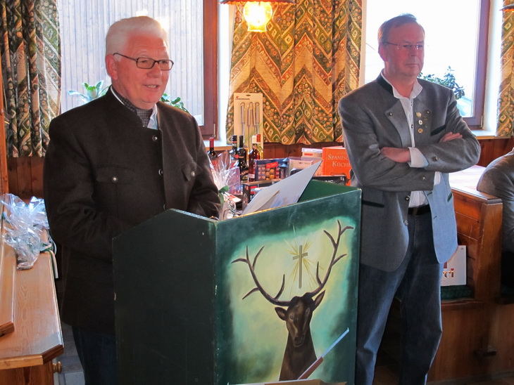 zuvor aber noch die Rede des 2. Bürgermeisters Wolnzach, Herrn Erich Niedermeier