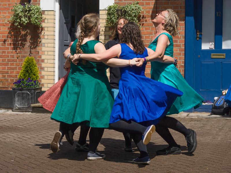 Wimborne Minster Folk Festival 12th-14th June 2019 (photo: Wimborne  Minster Folk Festival)
