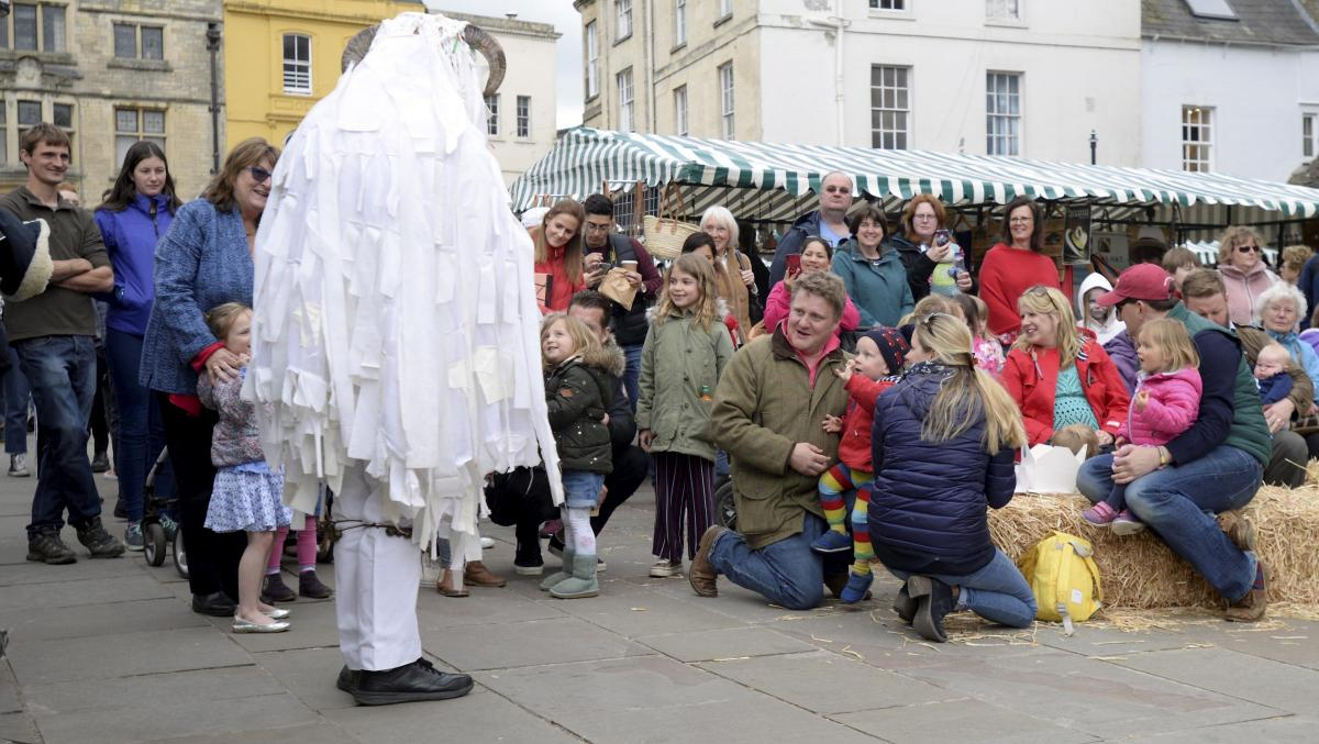 Cirencester Fleece Fayre, 6th May 2019 (Photo: Paul Nicholls, Wilts & Glos Standard)