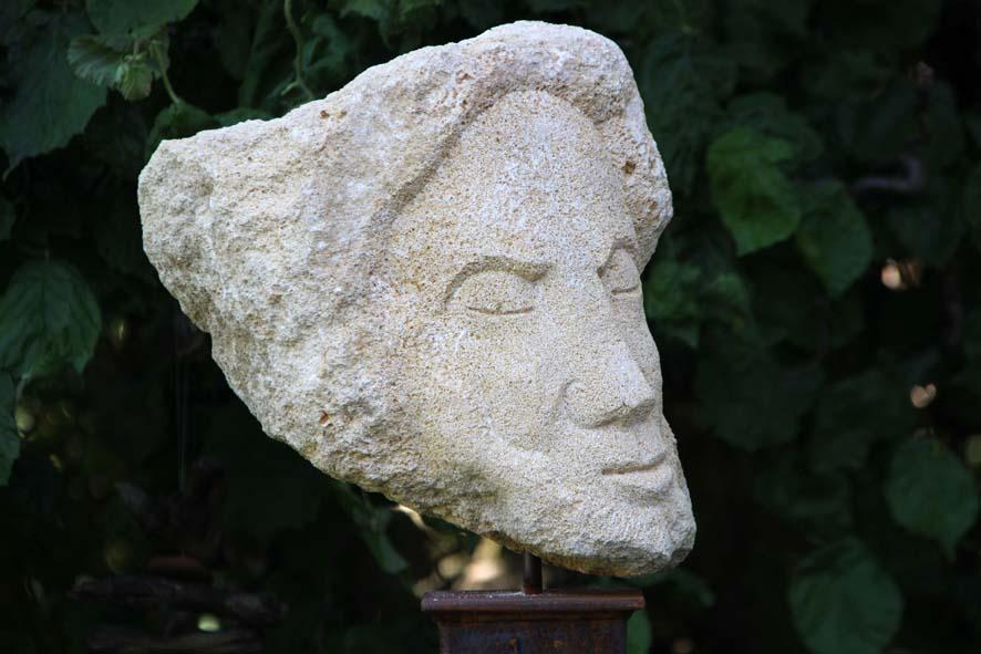 Sandsteinkopf