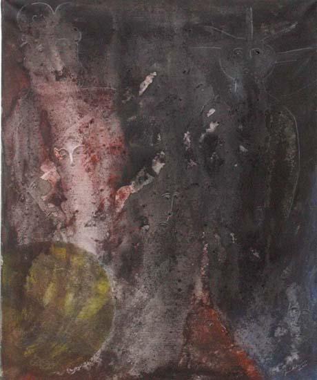 o.T.  Öl auf Leinwand  50x60 cm