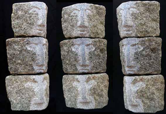 Orig. Ortenburger Granitpflastersteine 17x17x17 cm