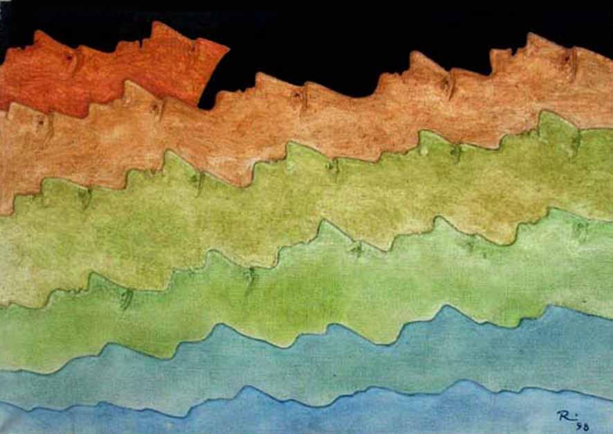 Metamorphose   Öl auf Leinwand 23 x 35cm