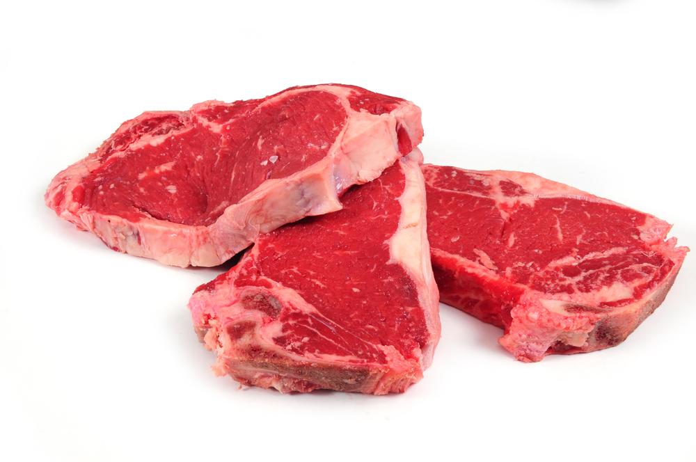 Muskelfleisch mit gutem Fettanteil
