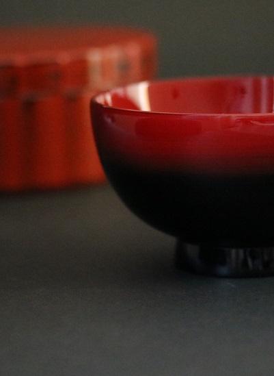 輪島塗 ぼかし汁椀