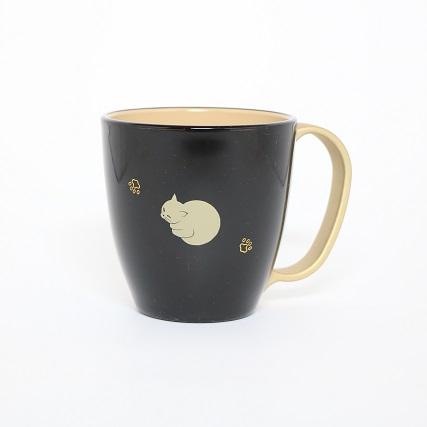 猫 マグカップ 黒 猫になりたい ぬりもの 金沢 おみやげ わこう 和幸