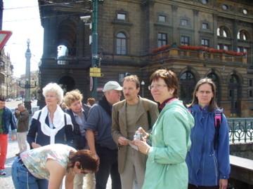 """Literatur-Tour """"Kafkas Prag"""" (2008)"""