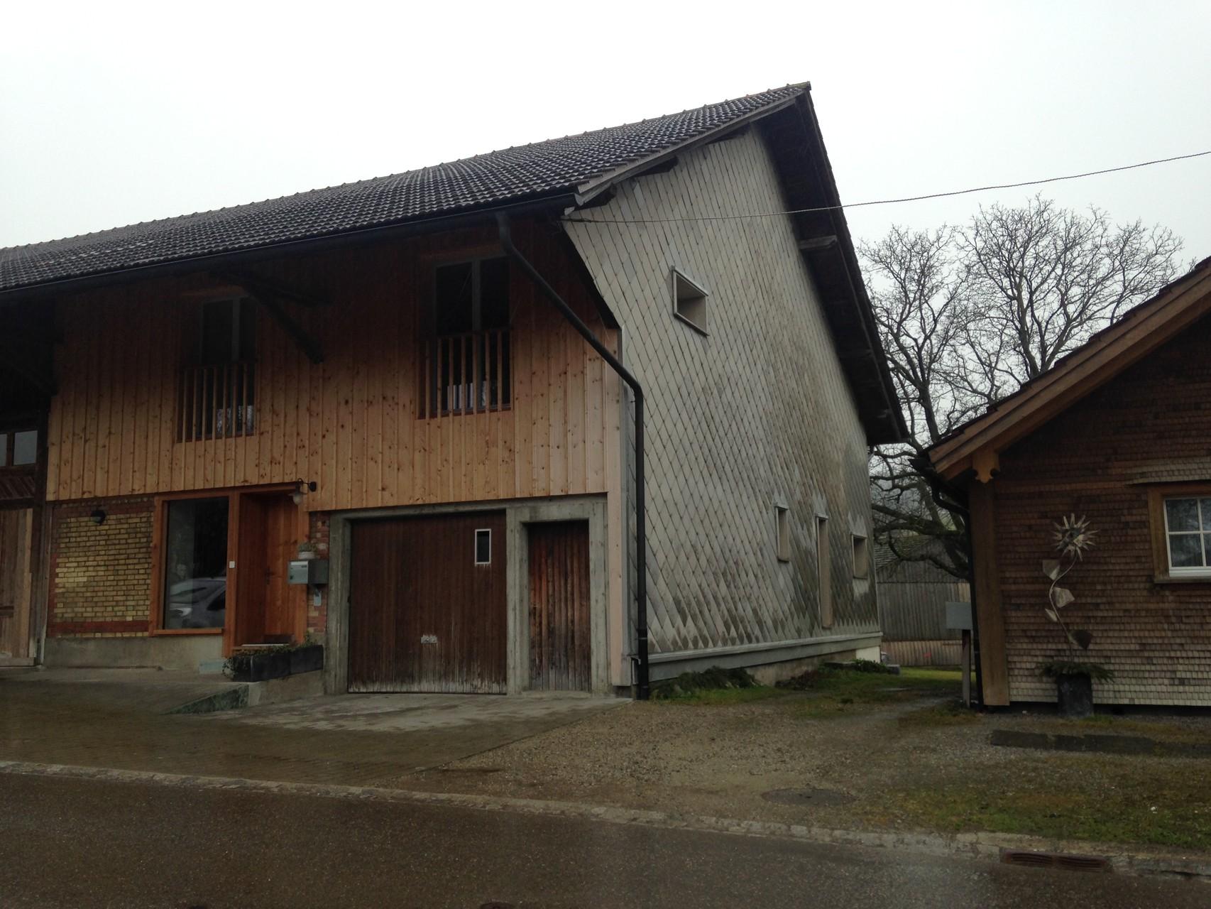 EFH Einbau in Scheune Bettenau