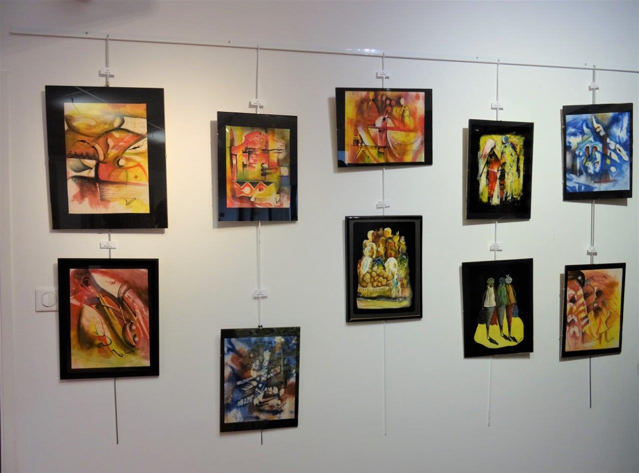 Quelques œuvres de Lamine Maïga