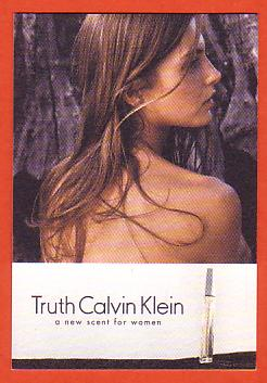 TRUTH WOMAN - CARTE ANGLAISE : RECTO