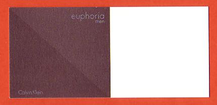 EUPHORIA MEN - CARTE ASIATIQUE : RECTO