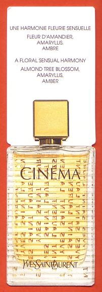 CINEMA - DOUBLE CARTE