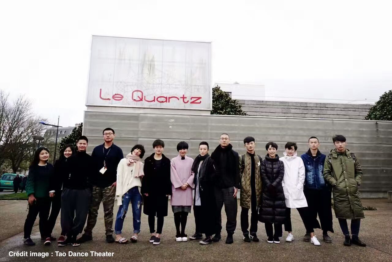 陶身体剧场在Le QUARTZ布雷斯特国家剧院演出